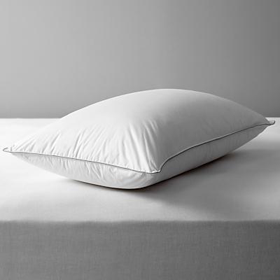 John Lewis Canadian Goose Down Standard Pillow, Soft/Medium