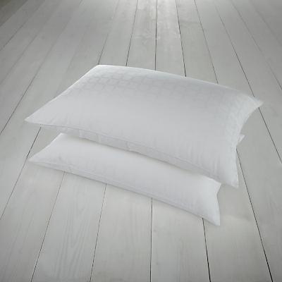 John Lewis Active Anti Allergy Standard Pillows, Medium/Firm, Pair