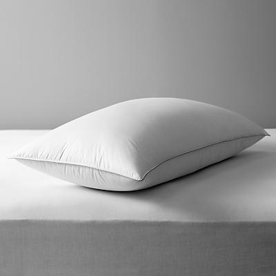 John Lewis Canadian Goose Down Kingsize Pillow, Medium/Firm