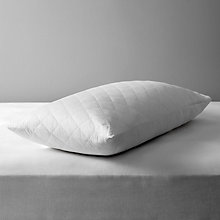Buy John Lewis Cotton Quilted Pillow Protector, Kingsize Online at johnlewis.com