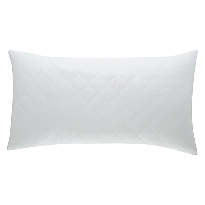 John Lewis Cotton Quilted Pillow Protector, Kingsize