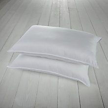 Buy John Lewis Soft Touch Washable Standard Pillows, Medium/Firm, Pair Online at johnlewis.com