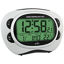 Buy Acctim Pulse Radio Controlled Smartlite Alarm Clock Online at johnlewis.com
