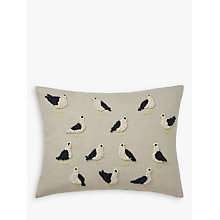 Buy John Lewis French Knot Seagulls Cushion Online at johnlewis.com