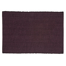 Buy John Lewis Croft Collection Tetbury Placemats, Set of 2, Grey Online at johnlewis.com