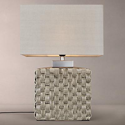 John Lewis Demeter Ceramic Pleat Table Lamp