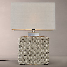 Buy John Lewis Demeter Ceramic Pleat Table Lamp Online at johnlewis.com