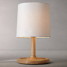 Buy John Lewis Mantel Wooden Table Lamp Online at johnlewis.com