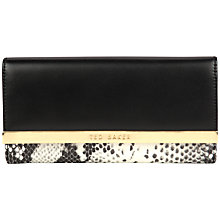 Buy Ted Baker Emery Large Exotic Leather Purse Online at johnlewis.com