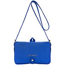 Buy Ted Baker Markun Stab Stitch Leather Across Body Bag Online at johnlewis.com