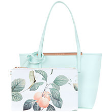 Buy Ted Baker Lilley Small Crosshatch Leather Shopper Bag Online at johnlewis.com
