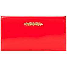Buy Ted Baker Annica Patent Metal Bow Travel Wallet Online at johnlewis.com