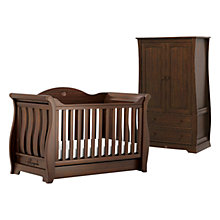 Buy Boori Sleigh Royale Cotbed and Wardrobe Furniture Set, Oak Online at johnlewis.com