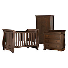 Buy Boori Sleigh Cotbed, Wardrobe and Dresser Furniture Set, English Oak Online at johnlewis.com