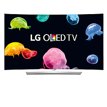 "Buy LG 55EG960V Curved 4K Ultra HD OLED 3D Smart TV, 55"" with Freeview HD, Harman Kardon Audio & 2x 3D glasses Online at johnlewis.com"
