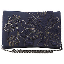 Buy White Stuff Martha Bag, Navy Online at johnlewis.com