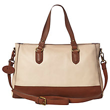 Buy White Stuff Becky Handbag, Bone Online at johnlewis.com