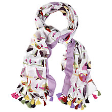 Buy White Stuff Birds Scarf, Multi Online at johnlewis.com