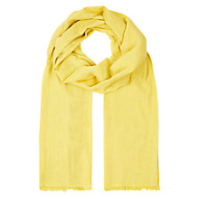Buy Hobbs Kim Scarf, Camomile Online at johnlewis.com