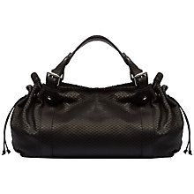Buy Gerard Darel 24 Heures Zip Handbag, Black Online at johnlewis.com