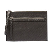 Buy Gerard Darel Rebelle Zip Pouch Bag, Black Online at johnlewis.com