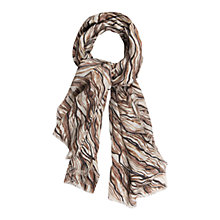 Buy Gerard Darel Angelina Cashmere-Blend Scarf, Beige Rose Online at johnlewis.com