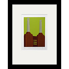 Buy Jennie Ing - Battersea Power Station Framed Print, 34 x 44cm Online at johnlewis.com