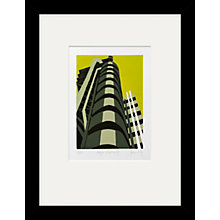 Buy Jennie Ing - Lloyds Building Framed Print, 34 x 44cm Online at johnlewis.com