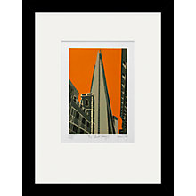 Buy Jennie Ing - The Shard Framed Print, 34 x 44cm Online at johnlewis.com