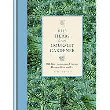 Buy RHS Herbs For The Gourmet Gardener by Caroline Holmes Online at johnlewis.com