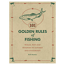 Buy 101 Golden Rules Of Fishing Book Online at johnlewis.com