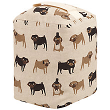 Buy Fenella Smith Pug Linen Door Stop Online at johnlewis.com