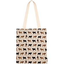 Buy Fenella Smith Pug Linen Tote Bag Online at johnlewis.com