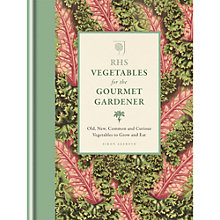 Buy RHS Vegetables For The Gourmet Gardener Book by Simon Akeroyd Online at johnlewis.com