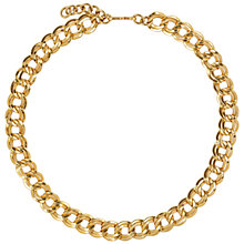 Buy Susan Caplan Vintage 1960s Monet Elegant Link Necklace, Gold Online at johnlewis.com