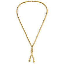 Buy Susan Caplan Vintage 1970s Vintage Monet Lariat Style Necklace, Gold Online at johnlewis.com