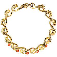 Buy Susan Caplan Vintage 1980s Vintage Givenchy Faux Coral Necklace, Coral Online at johnlewis.com
