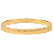 Buy Susan Caplan Vintage 1970s Monet Textured Bangle Online at johnlewis.com