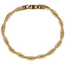 Buy Susan Caplan Vintage 1980s Vintage Monet Flex Twist Necklace, Gold Online at johnlewis.com