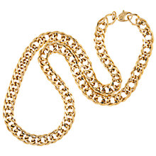 Buy Susan Caplan Vintage 1970s Vintage Grosse Chain Necklace, Gold Online at johnlewis.com