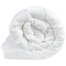 Buy John Lewis Baby Sleep Super Soft Breathable Cot Bed Duvet, 7 Tog, White Online at johnlewis.com