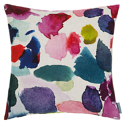 Image of bluebellgray Abstract Cushion, Multi