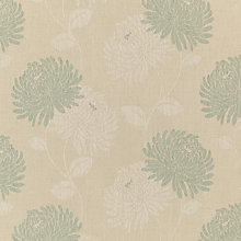 Buy Maggie Levien for John Lewis Chrysanthe Weave Fabric, Eau de Nil Online at johnlewis.com