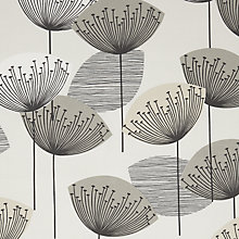 Buy Sanderson Dandelion Clocks Furnishing Fabric, Neutral Online at johnlewis.com