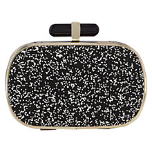 Buy Coast Caviar Clutch Bag, Mono Online at johnlewis.com