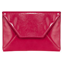 Buy Coast Envelope Leather Clutch Bag Online at johnlewis.com