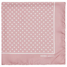 Buy Reiss Stone Polka Dot Silk Pocket Square Online at johnlewis.com