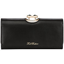 Buy Ted Baker Caleena Jewelled Bow Leather Matinee Purse Online at johnlewis.com