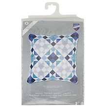 Buy Blocks Longstitch Cushion Kit, Multi Online at johnlewis.com