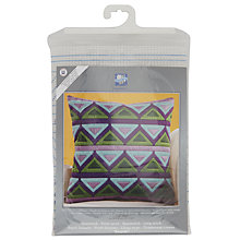 Buy Triangle Longstitch Cushion Kit, Multi Online at johnlewis.com